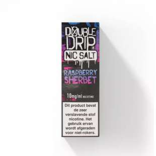 E-Liquid Double Drip - Raspberry Sherbet foto 1
