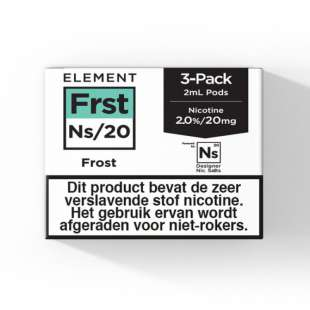 Element - Frost - NS20 POD 3 x 2ML 20MG foto 1