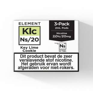 Element - Key Lime Cookie - NS20 POD 3 x 2ML 20MG foto 1