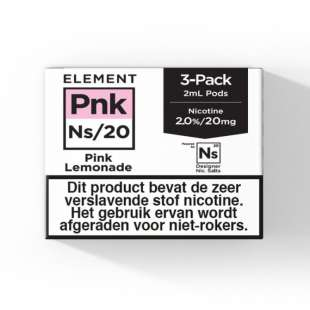 Element - Pink Lemonade - NS20 POD 3 x 2ML 20MG foto 1