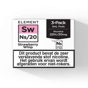 Element - Strawberry Whip - NS20 POD 3 x 2ML 20MG foto 1