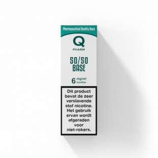 Qpharm - 50/50 PG/VG Base - 10ML foto 1