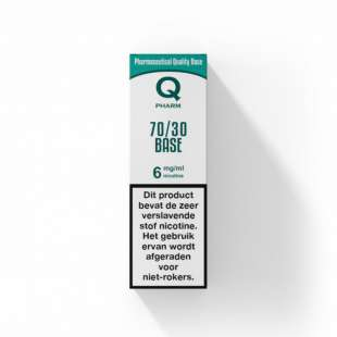 Qpharm - 70/30 PG/VG Base - 10ML foto 1