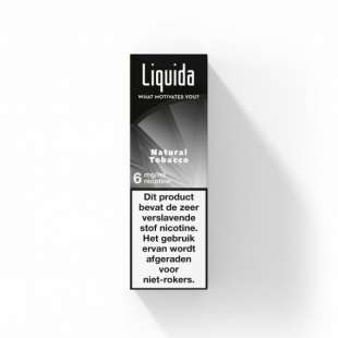 Liquida - Natural Tobacco foto 1