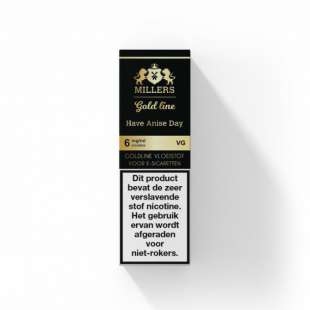 MILLERS JUICE GOLDLINE - 100% VG - HAVE ANISE DAY foto 1