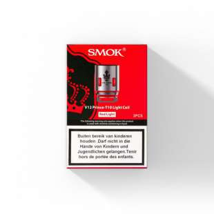 SMOK V12 Prince - T10 Red Light Coil (3 St.) foto 1